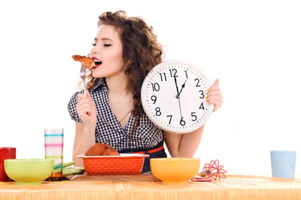 yavaş yemek yemek